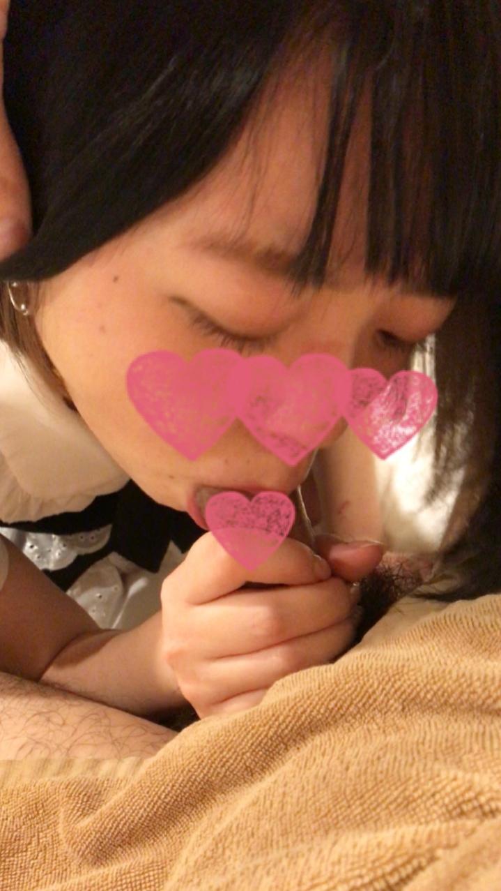 【個人撮影】口リ系変態JDちゃん(19)ハメ撮り編 生ハメ 顔出し フェラ抜き