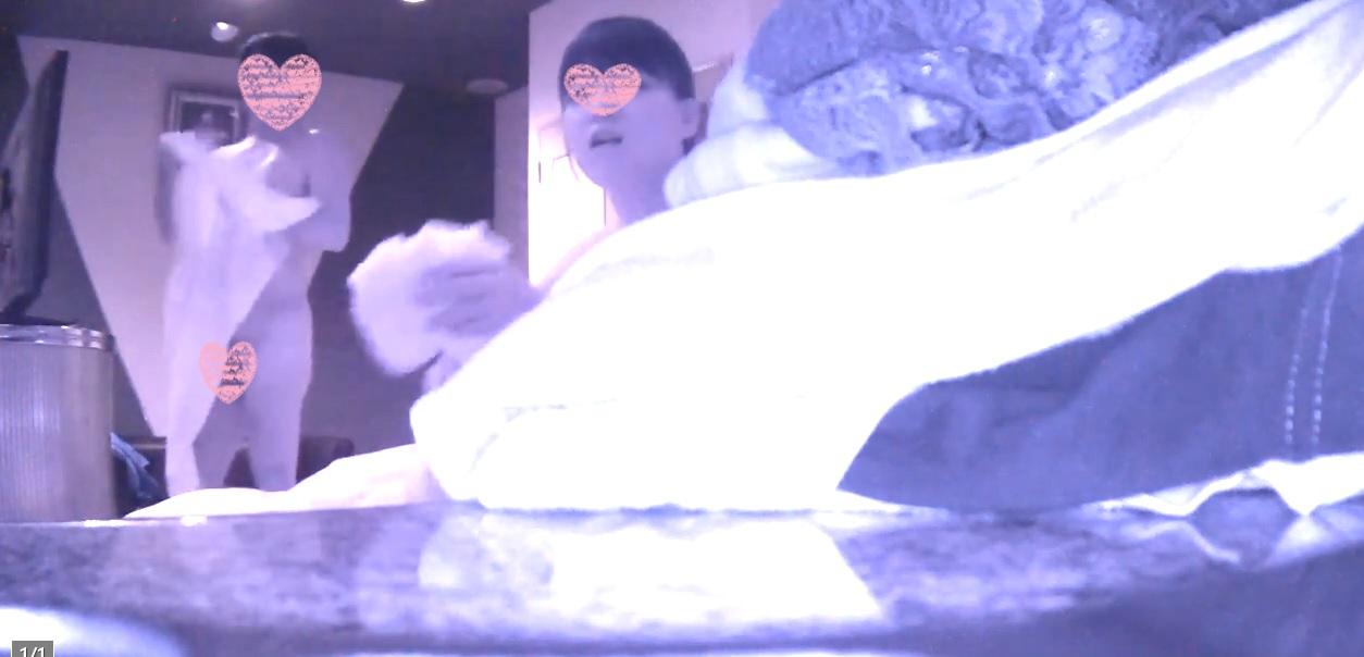 【オリジナル個人撮影】ヲタク女子(24才) こっそりゴムを外して中出し&赤外線カメラでハメ撮り