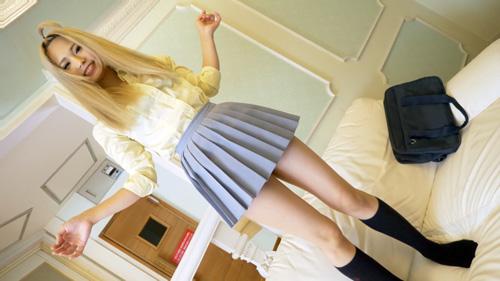☆71分☆金髪美白ぎゃるスレンダーと…~フェラ発射&制服コス3P編~