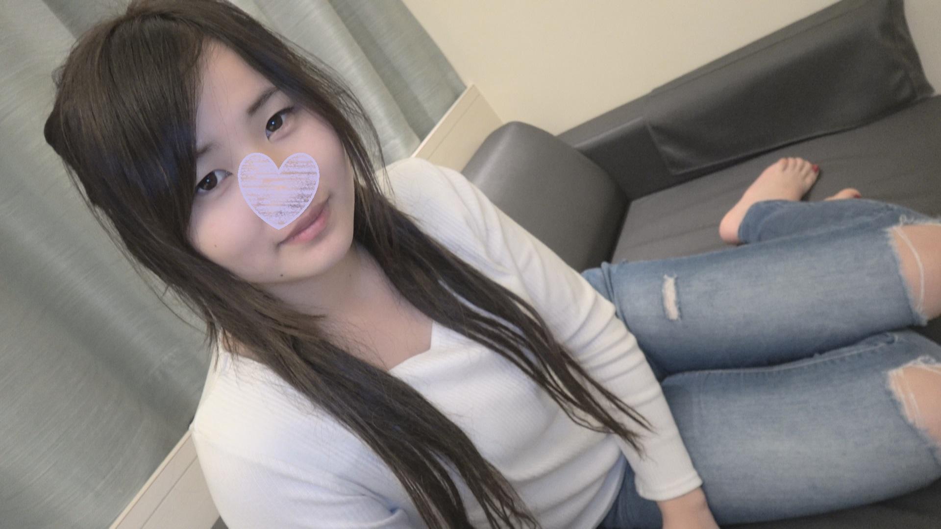 【個人撮影】垢抜けたパイパン巨乳娘いずみちゃんに再会記念中出し!