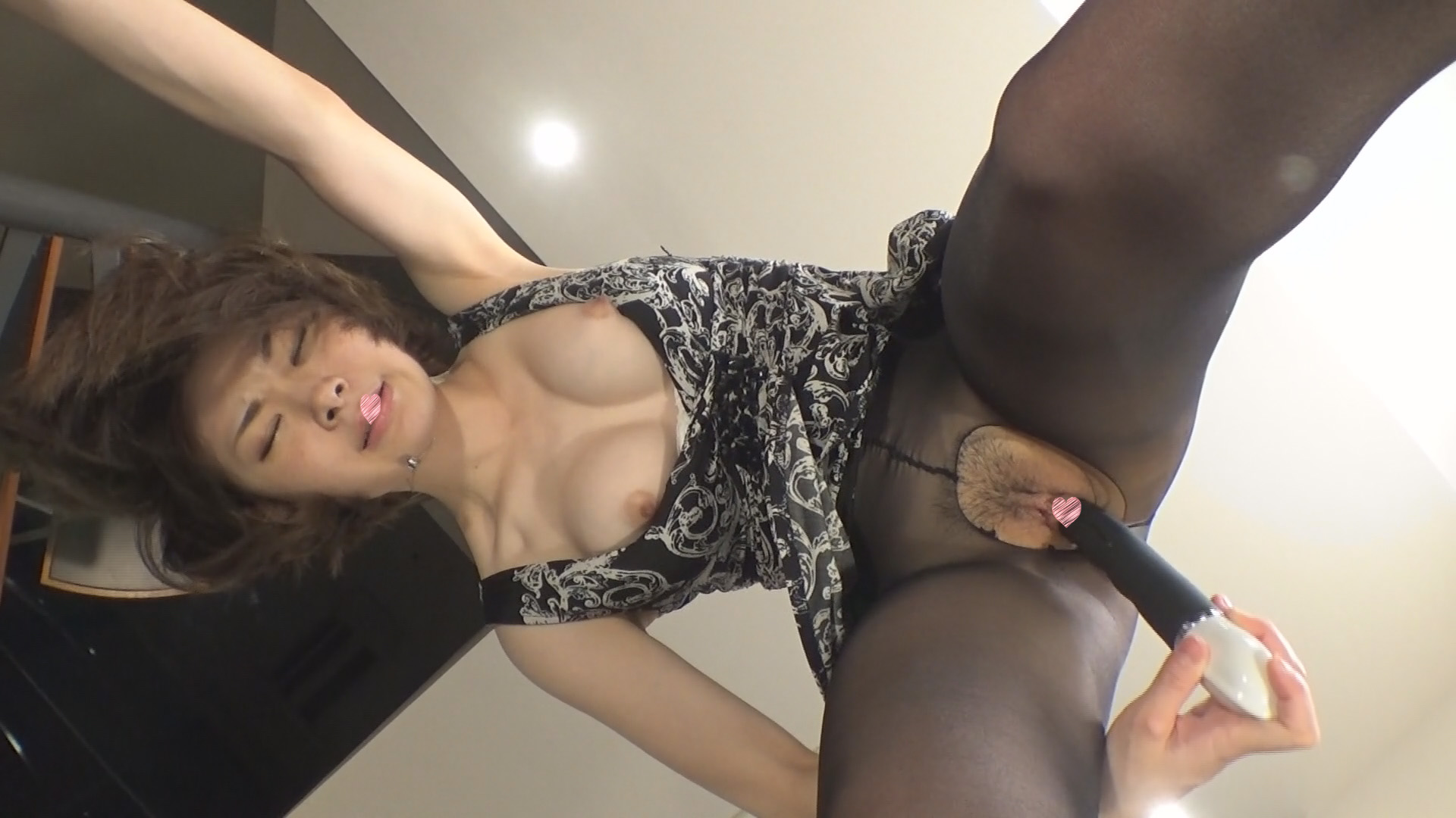 FC2 PPV 932302 bookstore part-time job ❤ busty daughter Mei (21) black pantyhose wrapped cunt vibrator